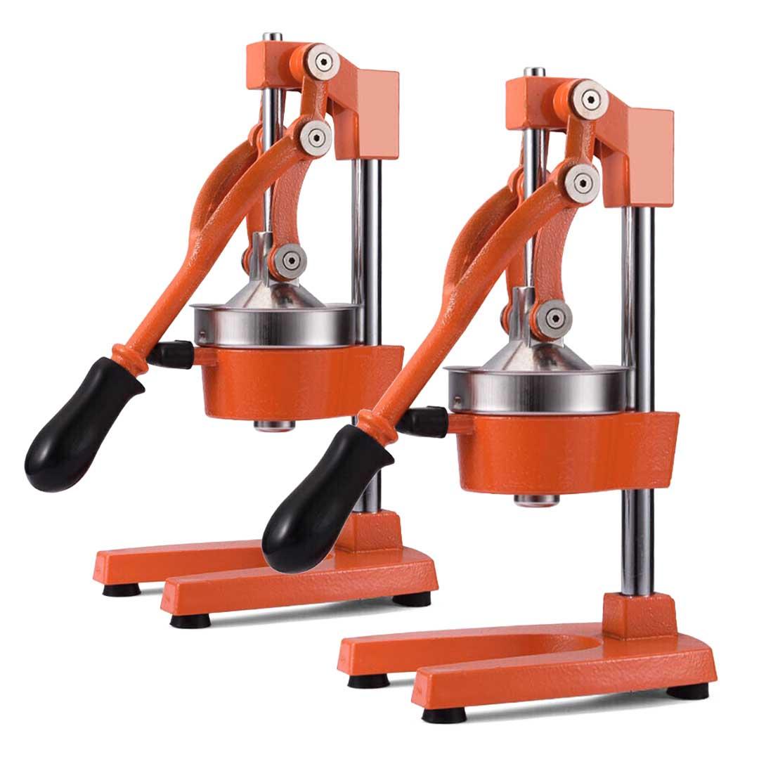 SOGA 2x Commercial Manual Juicer Hand Press Juice Extractor Squeezer Citrus