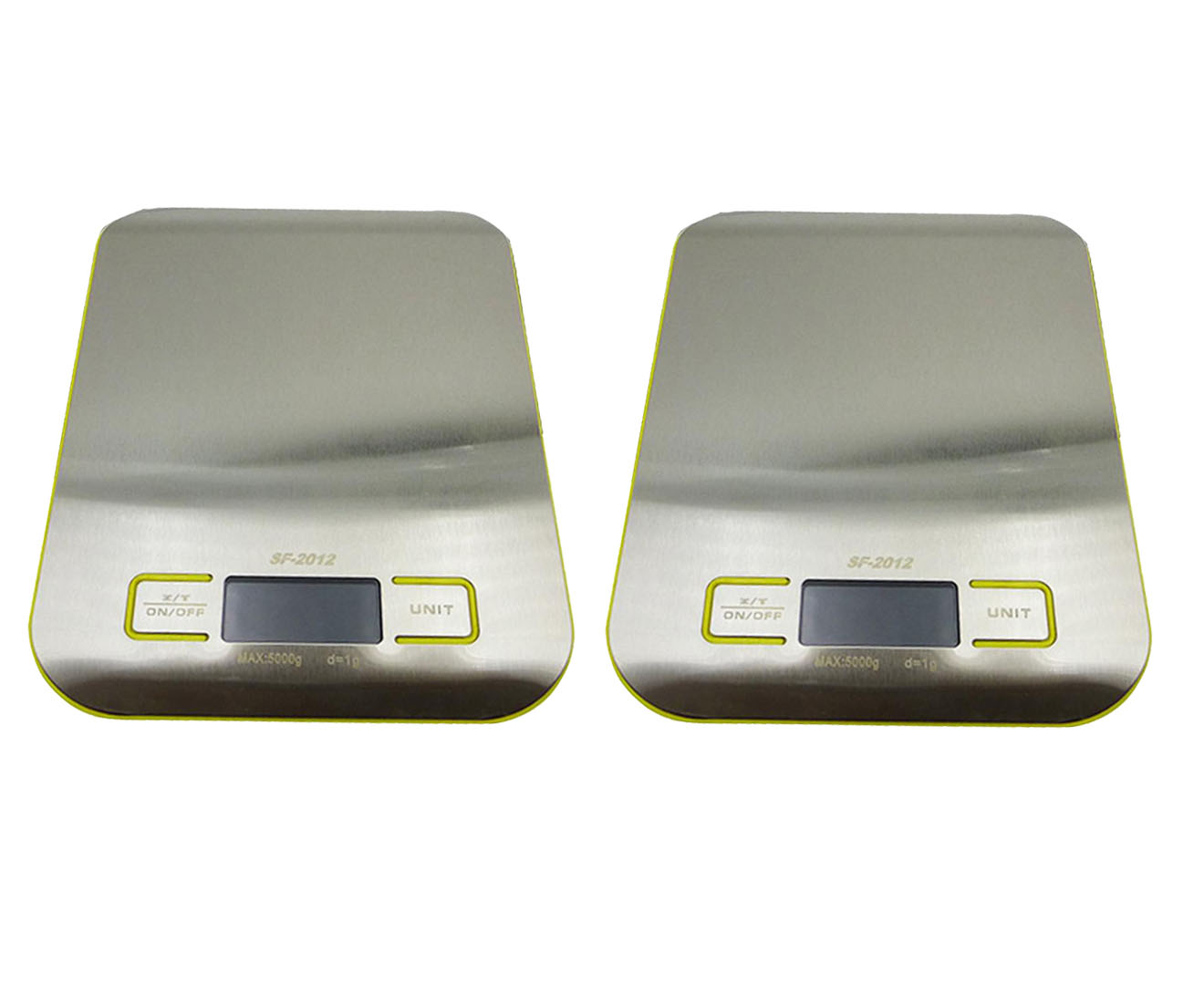 SOGA 2X 5kg/1g Kitchen Food Diet Postal Scale Digital Lcd Electronic Jewelry Weight Scale