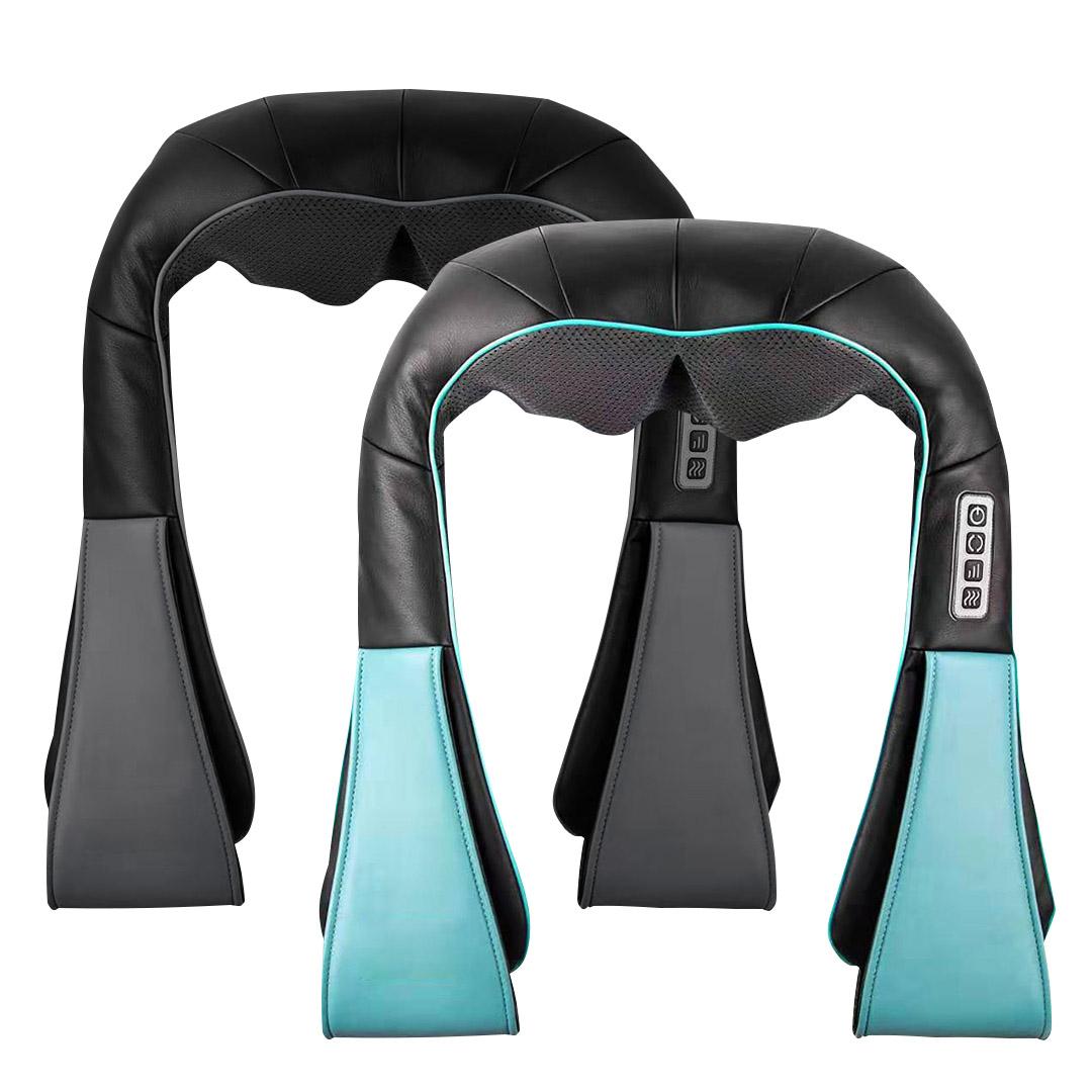 SOGA 2X Electric Kneading Back Neck Shoulder Massage Arm Body Massager Black/Blue