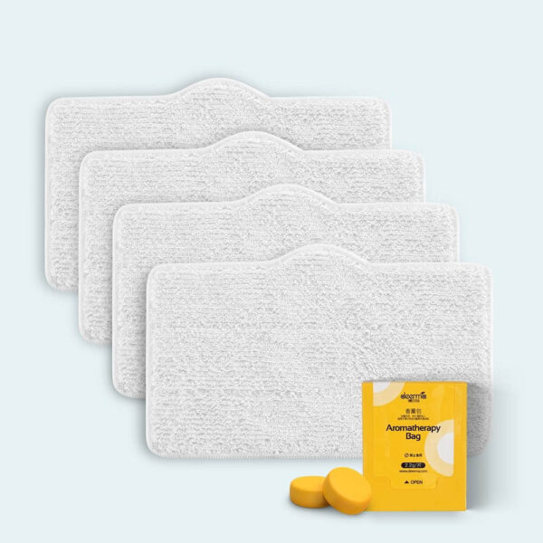4 pieces Cleaner Mop Cloth Set for Deerma ZQ610 Multi-function Steam Cleaner