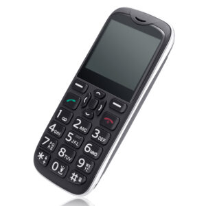 4G seniors mobile phone with SOS emergency button