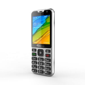 Android system 4g lte 2.8 inch feature bar phone dual sim keypad mobile phones with GPS, Facebook, WIFI