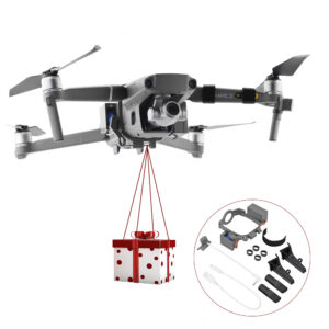 Air Thrower Dropping Transport Gift Delivery Device with Increase Landing Gear for DJI Mavic 2 Pro/Zoom Drone
