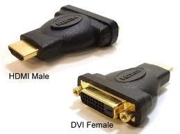 DVI Female to HDMI Male Adapter