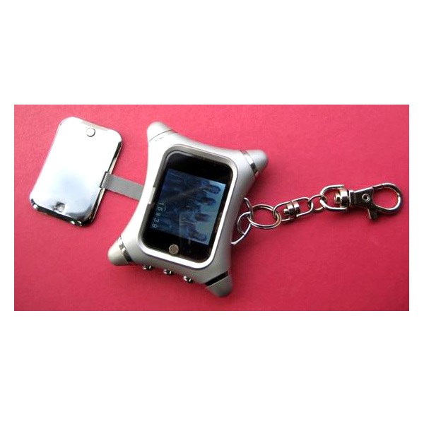 EZCool 1.5 inch Mini Digital Photo Frame With Key Chain & Screen Cover