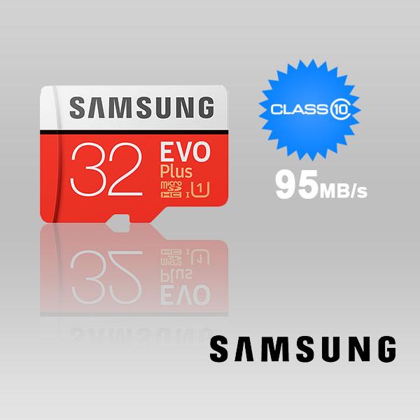 SAMSUNG 32GB UHS-I Plus EVO CLASS 10 U1 Without ADAPTOR 95R/20W MB-MC32G