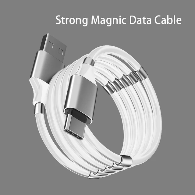 BDI MCB01 Magic Rope Magnetic USB to Type C Fast Charging Data Cable 1M