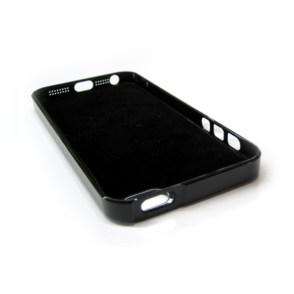 ALUMINUM BACK COVER FOR IPHONE 5 BLACK