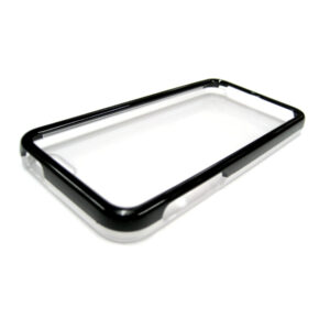 COLORED FRAME CLEAR MATTE BACK CASE FOR IPHONE 5