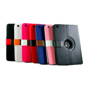 360 Rotational Leather Carry Case With Magnetic Flip for Mini iPad (Black color only)