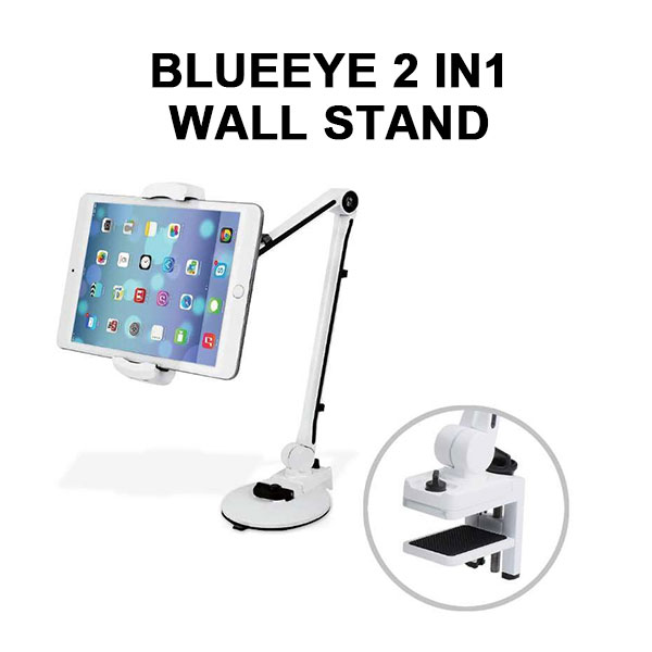 BLUEEYE 2 IN1 WALL STAND - WHITE