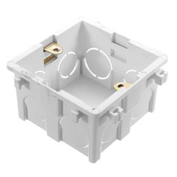 86x86mm Wall Plate Box Universal White Socket Switch Back Cassette 1