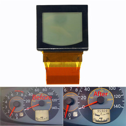 Cluster Odometer Speedometer LCD Display Screen for Nissan Quest 04-06 W/ Ribbon 1