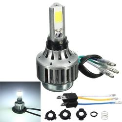 H4 32W 3000lm 6000K Hi/Lo Lamp COB Motorcycle LED Headlight Bulb 1