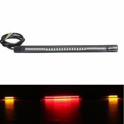 Universal Motorcycle Rear Tail Brake Stop Turn Signal 48 LED SMD Light Strip 1