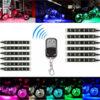 12x LED Remote Wireless Neon Light Strips Kit For Car Truck Lorry Boat Motor Bike 2