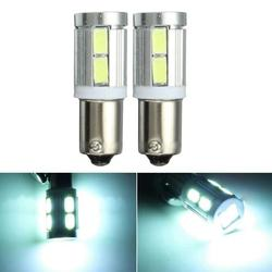 Pair White BAX9S 150?° H6W 10SMD Side Light Bulbs Canbus Error For BMW 3 Series F30 F31 1