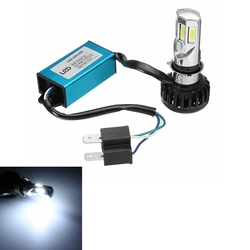 30W 3000LM H4 Motorcycle Bike Headlight Light Hi/Lo Beam Lamp Bulb 6000K 1