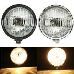 35W 5.75 inch Motorcycle Headlight Headlamp For Bobber Chopper Touring 1