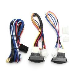 6Pcs 12V Universal Power Window Switch Kits With Installation Wiring Harness 1