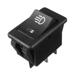 35A 12V DC 4 Pins Universal Fog Light Rocker Switch 1