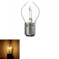35W 12V BA20d Headlight Bulb For GY6 ATV Motorcycle 1