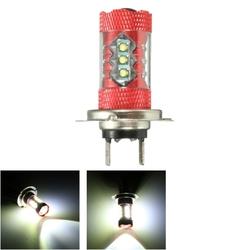 12V Pair Motorcycle LED Fog Light Lamp Bulb White H11 H10 H7 H8 H4 9005 9006 P13W H16 H13 1