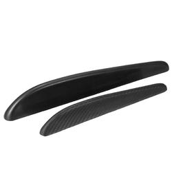 2 X Car Streamline Protection Bumper Anti-rub Crash Sticker Cover Bar Common Use 1