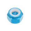 """Suleve?""""? M3AN1 10Pcs M3 Nut Self-locking Nylon Lock Hex Nut Aluminum Alloy Multicolor 6"""