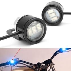 2pcs LED Eagle Eye Lamp Strobe Flash DRL Bicycle Motorcycle Car ATV Light 1