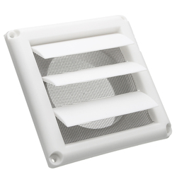 Plastic Ventilator Cover Air Vent Grille Ventilation Cover Wall Grilles Protection Cover 1