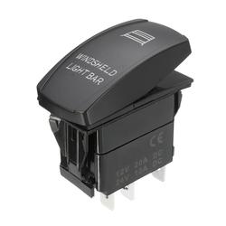 12V 20A 5 Pin Winshield Switch ON/OFF LED Rocker Switch Light Laser Rocker Toggle Switch 1