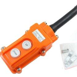 Crane Pendant Control Hoist Push Button Switch Station Up-Down Rainproof Button 1