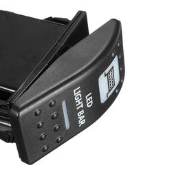 20A 12V LED Toggle Switch On/Off Rocker Switch LED Light Bar Switch 6
