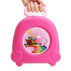 Kid Baby Toddler Toilet Portable Training Seat Travel Potty Urinal Pee Pot Chair 1