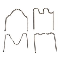 400 Staples Thermo Repair Kit For Hot Stapler Car Bumper Fender Repair Tool 1