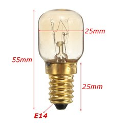 5pcs 25W SES E14 Pygmy Screw in Light Bulb Bulbs For Fridge Microwave Oven 3