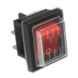 220V16A 20A 125V ON/OFF Red Switch Spare Waterproof Switch For Industrial Vacuum Suction Machines 1