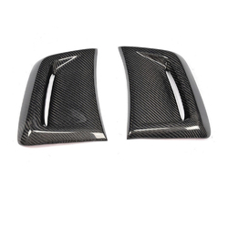 Car Carbon Fiber Side Air Insert Vent Cover For Benz W204 C63 AMG 1