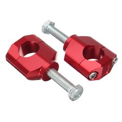 28mm 1 1/8inch CNC Handlebar Fat Mounts Clamps Raiser For Honda/Kawasaki/Suzuki 1