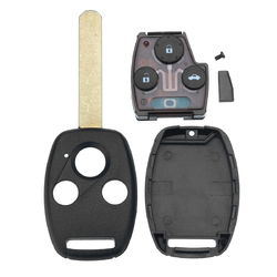 Car 3 Button Remote Key Fob With ID46 Chip 313.8Mhz For Honda Accord Civic 2003-2007 1