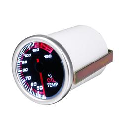 52mm 2'' Universal Car LED Pointer Oil Temp Fuel Temperature Display Gauge Meter 1