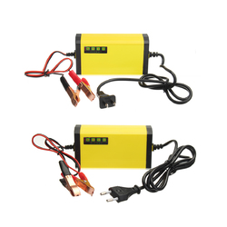 12V 2AH-20AH Smart Automatic ABS Battery Charger US/EU Plug For Car Motorcycle 1