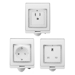 AC 90-250V Waterproof Charger Remote Control Switch Smart WiFi Socket Power Outlet Alexa Echo Google 1