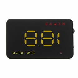 3.5 Inch Uinversal Car HUD Head Up Display LCD OBD2 Overspeed Warning System 1
