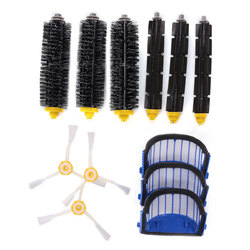 Accessory Replacement Kit Brushes Brushes 3 Armed Aero Vac Filter for iRobot 600 Series 1