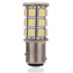 Pure white 1157 27 5050 SMD LED Car Brake Tail Turn Light Bulb 270LM 1