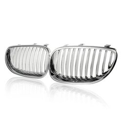 Car Front Wide Grille for BMW E60 E61 M5 2003-2009 1