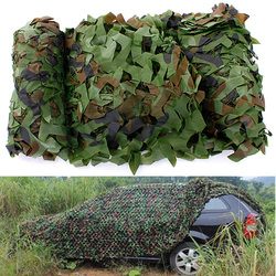 4x1.5m Woodland Camouflage Camo Net For Camping Military Photography 1