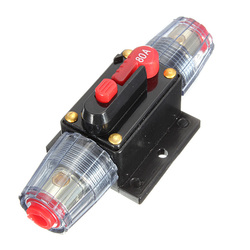 DC12V Car Stereo Audio Circuit Breaker Inline Fuse 80AMP 80A 1